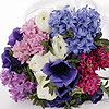 Gorgeous hyacinth bouquet